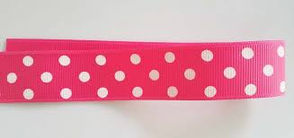 pink polka dot ribbon pink polka dot ribbon with a bow stock photo image 42264063