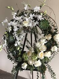 funeral spray floral funeral spray wreath in palm desert ca palm springs