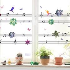 popular music note wall sticker large buy cheap music note wall large musical notes wall stickers school classroom wall art decoration window kitchen anta oil removable