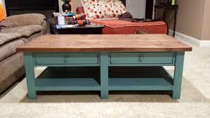 Ana White Sawhorse Desk Marble 17 Free Plans To Build A New Coffee Table Ana White