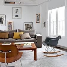 Vintage Modern Living Room Home Interior Design Living Room - Vintage design living room