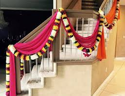 indian wedding house decorations home décor for an indian wedding home drapes and flowers by dress