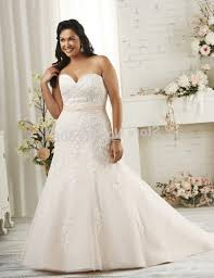 plus size wedding dress with color pluslook eu collection