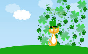 computer background pic get lucky with leprechaun desktop wallpaper for st patrick u0027s day
