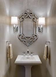 Traditional Sconces Awning Window Design Bathroom Traditional With Wall Sconces