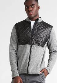 adidas sweatshirt grey and blue adidas golf fleece dark grey