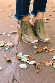 s qupid boots qupid barnes 197a stacked booties in taupe groovy s