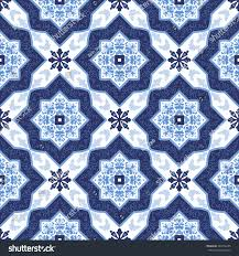 Blue And White Wallpaper by Portuguese Azulejo Tiles Blue White Gorgeous Stock Vector