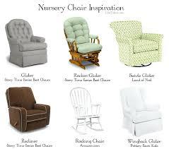 Breastfeeding Armchair Baby Rocking Chair Glider Gliders Nursery Glider Or Rocking Chair