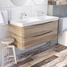 Wall Vanity Units Lovable Double Vanity Units For Bathroom And The Roma 1800 Wall