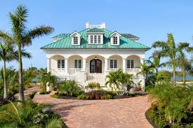 Dormer Window With Balcony Miami Key West House Plans Exterior Tropical With Roof Balcony