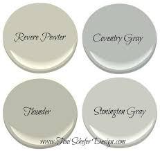 my top 4 benjamin moore grays