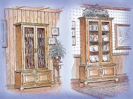 gun cabinet plan 002d 1502 house plans and more