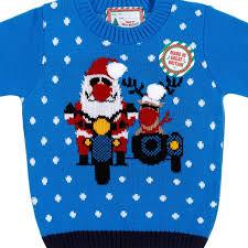 christmas jumper boys christmas jumper santa rudolph kids clothing b m