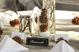 table decorations with pine cones pine cone decorations for weddings iron blog pine cone christmas