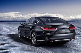 lexus ls 2016 2018 lexus ls 500h hybrid revealed offers ev mode up to 140km h