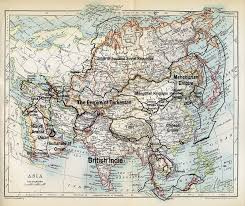 A Map Of Asia by Image Map Of Asia 1915 Jpg Alternative History Fandom