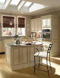 Kitchen Glazed Cabinets Ivory Kitchen Cabinets With Mocha Glaze From Homecrest Cabinetry