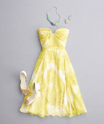 Yellow Dresses For Weddings How To Pair Your Bridesmaid Dress With Jewelry And Accessories