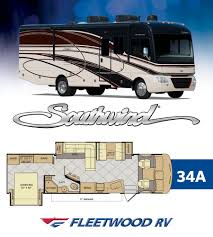Fleetwood Travel Trailer Floor Plans by Fleetwood Introduces New Southwind Floor Plans U2013 Vogel Talks Rving