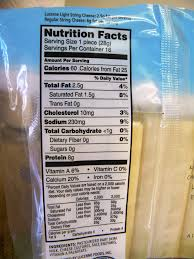 carbs in light string cheese meal survivor light string cheese