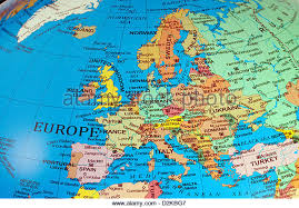 map of europe europe map stock photos europe map stock images alamy