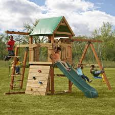 Playground Sets For Backyards by Bring The City Park To Your Backyard With This Play Set Featuring