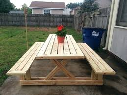 picnic table plans detached benches picnic table plans detached benches picnic tables picnic table kit