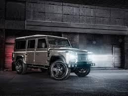 kahn land rover defender kahn automobiles perkenalkan land rover defender enam tayar dengan