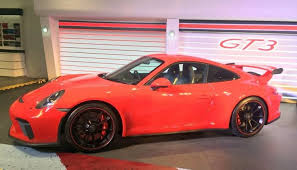 porsche 911 launch porsche 911 gt3 india launch price rs 2 3 crores