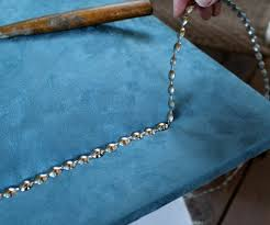 Dritz Home Decorative Nailhead Trim How To Apply Decorative Nailhead Trim
