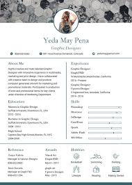 resume with photo template cv template 25 free word pdf documents free premium