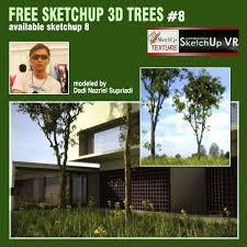 sketchup texture free sketchup 3d model tree 8
