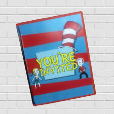 Cat In The Hat Party Decorations Dr Seuss Party Supplies Signs Free Shipping U2013 Inkspire