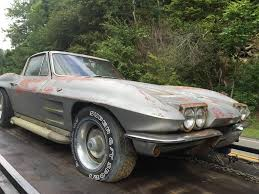 1964 corvette stingray value corvettes on craigslist barn find 1964 corvette sting sport