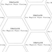 mini hexagons 1 1 4 inch templates download alice caroline