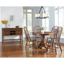dining room tables with extension leaves oval single pedestal dining table with extension leaf by aamerica