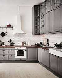 Gray Cabinets With White Countertops Planning A Dream Kitchen Painted Cupboards White Subway Tiles