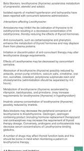 Blockers Uk Levothyroxine And Beta Blockers Thyroid Uk Healthunlocked