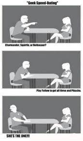 Speed Dating Meme - pok礬memes speed dating pokemon memes pok礬mon pok礬mon go