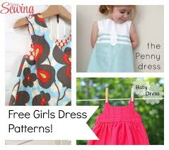 free sewing patterns u2013 girls summer dresses
