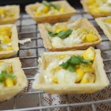 canapes recipe corn canapes recipe how to corn canapes by babitha costa