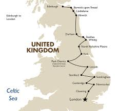 Map Of England And Scotland by Edinburgh To London England U0026 Scotland Goway Travel