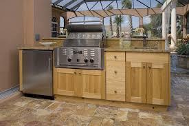kitchen outdoor kitchen design built in grill stainless steel