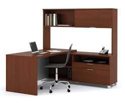 Modern L Shape Desk Home Office Modern Home Office Furniture Of Brown Wooden L Shaped