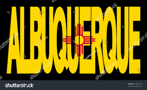 New Mexican Flag Albuquerque Text New Mexico State Flag Stock Illustration 15846196