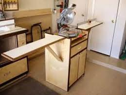 Table Saw Stand With Wheels 32 Best Miter Saw Station Images On Pinterest Miter Saw