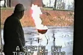 youtube thanksgiving day parade the seven best deep fried turkey disaster videos eater