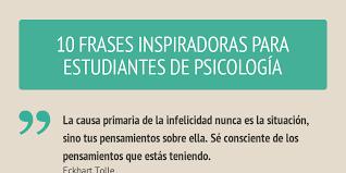 imagenes inspiradoras para estudiantes frases para estudiantes de psicología by federico garateguy infogram