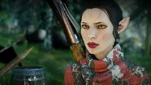 dragon age inqusition black hair dragon age inquisition attractive elf 2 by paul743 on deviantart